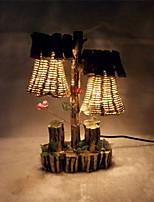 Lampes de bureau - Rustique/Campagnard - Bois/bambou - Protection des yeux