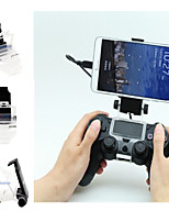 [Gift Pacakge]Dual Shock Wireless Bluetooth Game Controller With Mobile Phone Holder for PS4