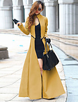 Women's Vintage Casual Party Work Long Sleeve Trench Coat