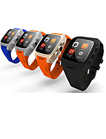 MT6572 1.3GHz Android 4.4.2 Bluetooth 4.0 Smart Watch(Sapphire Glass, Pedometer, Heart Rate, Waterproof, Anti-lost)