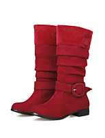 Women's Shoes  Fashion Boots Boots Outdoor / Office & Career / Casual Low Heel OthersBlack / Brown /