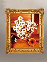 diy kit de ponto cruz, floral 55 * 65