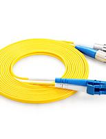 shengwei® lc (UPC) -fc (UPC) simplex âme double fibre cordon de raccordement 3m / 5m / 10m