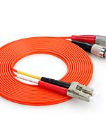 shengwei® lc (UPC) -lc (UPC) simplex âme double fibre cordon de raccordement 3m / 5m / 10m