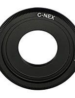 Black C Mount Lens to SONY NEX-5 NEX-3 NEX5 NEX-C3 NEX-VG10 Adapter C-NEX