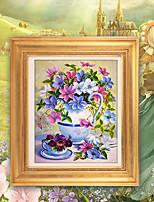 DIY KIT Diamond Cross Stitch , Floral 63*76