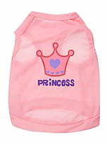 Dog Vest / Vest A variety of colors / Summer  Tiaras / Crowns Fashion