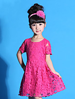 Girls Dress Princess Wedding Party Kids TuTu Dresses Children Clothes 3-8T