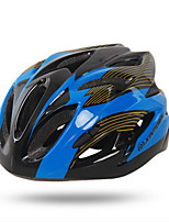 Adjustable Unisex 18 Vents PC + EPS Mountain Bike Helmet