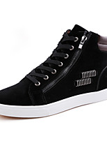 Men's Boots Spring / Fall / Winter Others Leather Casual Lace-up Black / Blue / Red