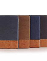 7.9 polegadas padrão de combinar cores de alta qualidade estojo de couro pu para ipad mini-4 (cores sortidas)