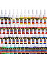 Solong Tattoo Ink 54 Colors Set 5ml/Bottle Tattoo Pigment Kit