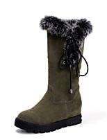 Women's Shoes  Fashion Boots Boots Outdoor / Office & Career / Casual Wedge Heel OthersBlack / Brown /  &9962