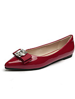 Women's Shoes Flat Heel Comfort / Pointed Toe / Closed Toe Flats Dress / Casual Blue / Red / Gray