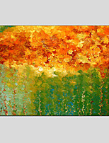 Oil Painting Modern Abstract , Canvas Material with Stretched Frame Ready To Hang SIZE:60*90CM.