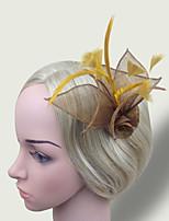 Women Fabric Hair Clip , Cute / Party Simple Flower  Headpiece
