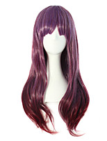 High Quality Nylon Hair Curly Hair Fashion Color Girl Necessary Wig