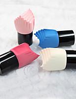 Top Face Mujer Cara de limpieza Cepillos Rostro / Ojos / Labios / cuello / Mano Esponjas Naturales Azul / Rosa / Color Beige / Rose