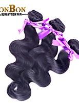 3bundles peruviana vergine dei capelli umani dell'onda del corpo di tessitura