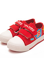 Baby Shoes Outdoor / Casual Canvas Loafers Black / Blue / Red