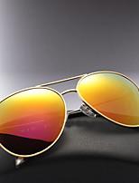 polarizadas gafas de sol aviador moda clásica