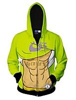 Herren Freizeit / Formal / Sport Activewear Sets - Druck Lang Polyester
