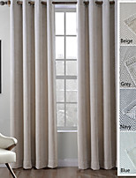 TWOPAGES Zinge Collection Polyester Chenille Jacquard Zig Zag Wave Soft Hand feel Curtain Drapes (One Panel)
