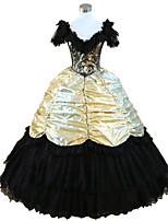 Steampunk®Civil War Southern Belle Ball Gown Dress Halloween Party Dress