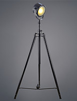 LOFT Vintage Industrial Floor Tripod Floor Lamp Decorative Floor lamp Art Traditional/Classic Metal Floor Lighting