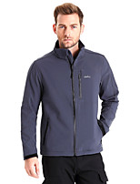 Clothin Men Windproof Breathable Dry Fleece Jacket For Hiking Camping Trekking