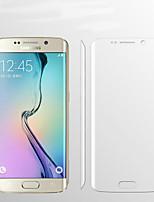 9h 0.1mm cobertura full hd clara explosión prima de pantalla a prueba flim protector de borde de la galaxia de Samsung s6 plus