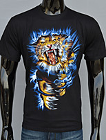 Men's fashion t-shirt printing 3D