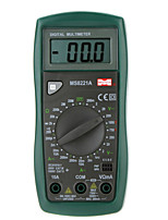 MASTECH MS8221A Professinal Digital Multimeters DMM DC/AC Current Voltage Resistance Tester