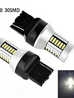 7440 7443 30SMD 4014 LED 5W luce auto 550lm evidenziato lampadine