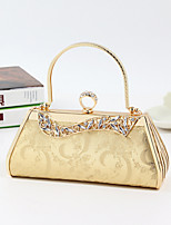 Women PU / Metal Minaudiere Shoulder Bag / Tote / Evening Bag / Wristlet - Multi-color