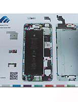 Magnetic Screw Mat Technician Repair Pad Guide for iPhone 6 Plus