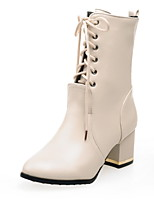 Women's Shoes  Fashion Boots / Combat Boots Boots Outdoor / Office & Career / Casual Chunky Heel Others   &66-5