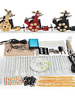 Tattoo Machine Complete Kit Set 3 Guns Machines 40PCS tattoo ink Tattoo kits