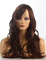 2015 Women Ombre Fashion Natural Wavy Janpanese Heat Resistant Synthetic Long Hair Wig 9052-2-30 26