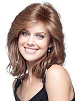 Women lady  Long Sections Synthetic Hair Wigs
