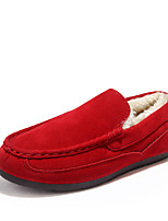Women's Shoes Flat Heel Moccasin / Comfort / Novelty / Round Toe Loafers Office & Career / CasualBlack / Blue /