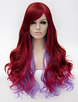 European and American Fashion Girl Selling Essential Mixed Color Quality Curly Wig