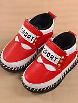 Baby Shoes - Casual - Stivali - Finta pelle - Nero / Giallo / Rosso