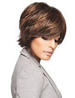 Fashionable  Syntheic Wigs Extensions Women Lady's Lovely Style Of Mixture Color