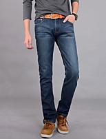 Men's Pure Long Sleeve Pant , Denim / Fleece Casual / Plus Sizes