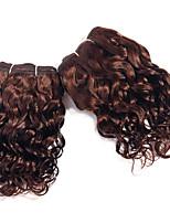 extensões de cabelo onda super set # 4 marrom claro virgem cabelo humano tecer onda solta brasileiro do cabelo de tecelagem