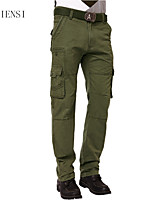 More than 2015 of men's pants pocket tooling loose military outdoor sports leisure male trousers men's trousers.