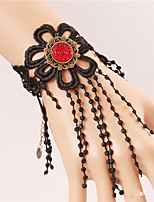 Hot Sell Fahsion Halloween Black Lace Bracelet