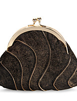 Grace Angel Women's Retro Zipper Evening Bag Clutch Coin Purse Party Casual All-Match Handbags
