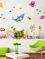 Underwater World Wall Decals Decorative Wall Stickers